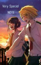 Very Special Note || KamiJirou by annie-go-lucky