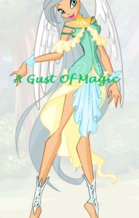 A Gust of Magic by saquiba