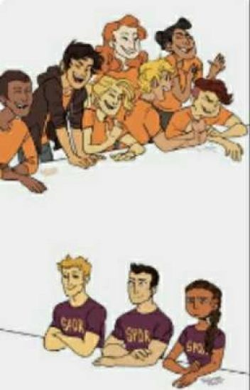 Percy Jackson and friends react to their own fan art