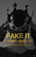 Fake It (Solangelo Royalty AU) by JustASolangeloStan
