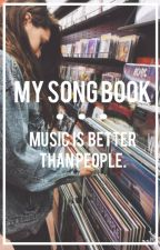 ➳ my song book. by vodkacidic
