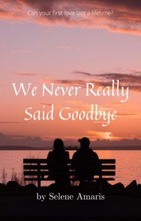 WE NEVER REALLY SAID GOODBYE by SeleneAmaris