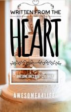 Ani's Bday Giveaway: Written From The Heart by AwesomeA4life