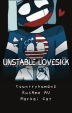 Unstable Lovesick (countryhumans RusAme AU) by MarkaiCat