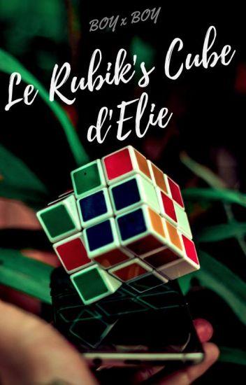 Le Rubik's Cube d'Elie.