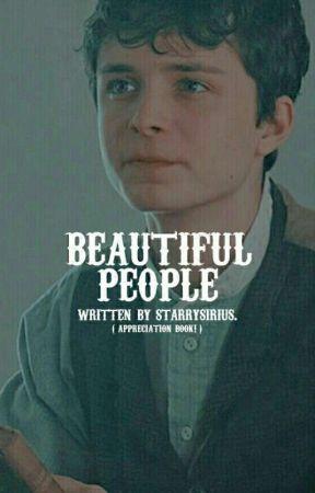 BEAUTIFUL PEOPLE  ,  APPRECIATION BOOK.  by -paddifoot