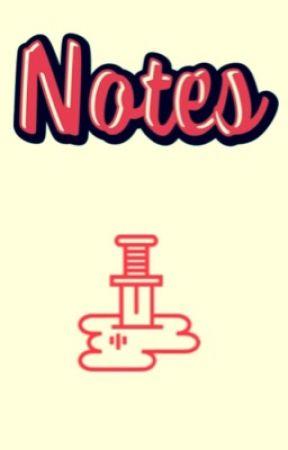 Notes - Twilight - Wattpad