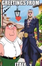 Peter Griffin x Abbachio Leone  (have s*x in the barnyard by hardyfortheparty