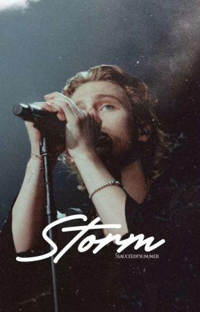 Storm - Luke Hemmings by 5sauceeofsummer