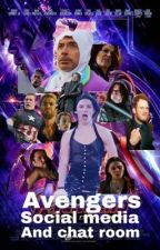 Avengers (and a couple more) social media and chat room by Exi_2314