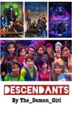Descendants Reactions by The_Demon_Girl