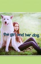 the girl and her dog by insxcure_