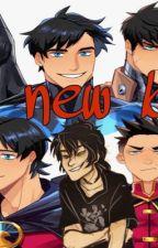 A new bro? Batfam x Nico by Annaowen2468