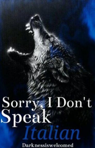 Sorry, I Don't Speak Italian