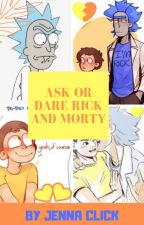 Ask or Dare Rick and Morty 💛💙🧡 by -michael_mellow-