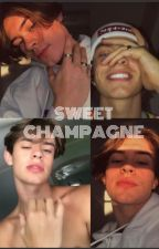 Sweet Champagne// Anthony Reeves by chinglingpie