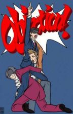 Ace attorney one shots!  by The_Skinny_Legend