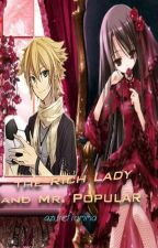 The Rich Lady and Mr. Popular by azurefiamma