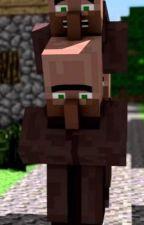Villager x Minecraft player by ariannasmh