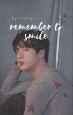 remember to smile ↯ k.sj by coconutjeon