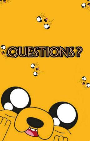 QUESTIONS ?  by ayraaaaaadia