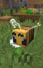 reader x Minecraft bee  by lysasvids
