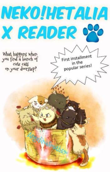 Neko!Hetalia x Reader