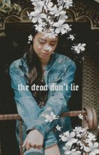 THE DEAD DON'T LIE―draco malfoy au by anti-heroines