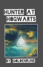Hunter at Hogwarts  by Goldenrune