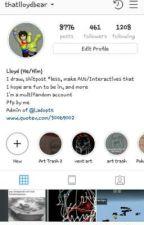 Instagram thing by LloydDreemurr