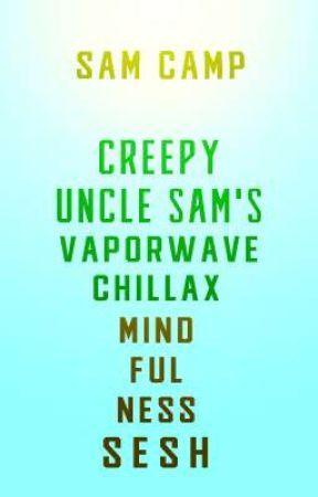Creepy Uncle Sam's Vaporwave Chillax Mindfulness Sesh by Sam_le_fou