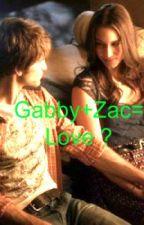 Gabby+Zac = Love? by Cutttttttie