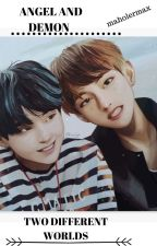 -taegi- ANGEL AND DEMON TWO DIFFERENT WORLDS by maholermax