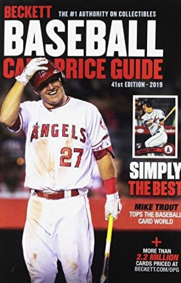 Beckett Baseball Card Price Guide 2019 Pdf By
