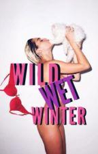 WET WILD WINTER    Miley Cyrus  by HOODMONKEY