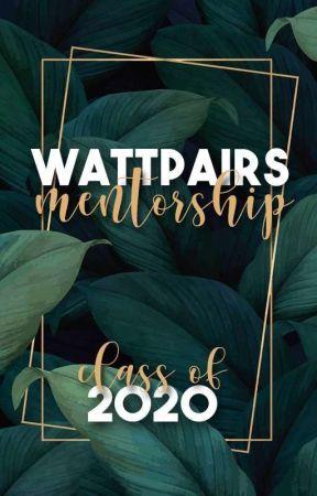 Wattpairs Mentorship Challenge [2020 - CLOSED] by WattPairsMentorship