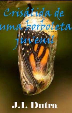 Crisálida de uma borboleta juvenil by joaoitalodutra
