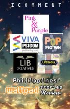 Philippines' Wattpad Stories Publishers Review by icomment