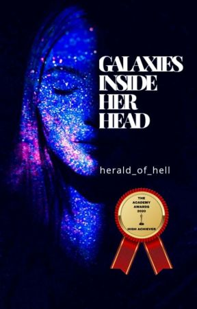 Galaxies inside her head by herald_of_hell