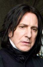 Severus Snape & Catherine Belleza by stormfan1393