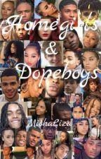 HomeGirls & DopeBoys by michaliza