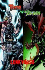 Thor vs Spawn by Spider-man1999