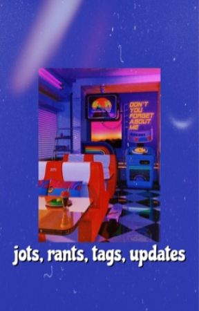 jots, rants, tags, updates  by -imonlysleeping-