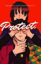Protect ||Tomioka Giyuu X OC|| by browncookiespaghetti