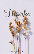 Thanks by MariaPulohanan