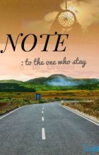 NOTE: to the one who stay by SuJyaa