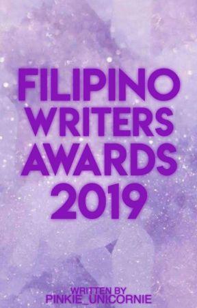 Filipino Writer's Awards 2019 by Pinkie_unicornie