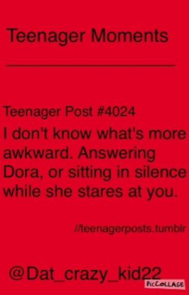 Teenage Moments