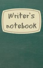 Writer's Notebook by BeneficialCucumber