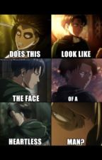 AOT Self-Harm!Levi x Reader by MichelleLOC17